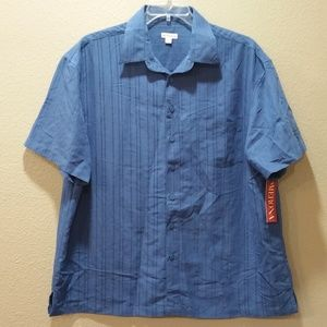 💥3 for $20💥 Merona Button Up Blue Shirt   XL